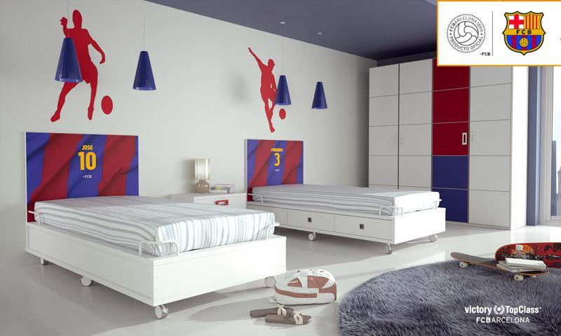 Dormitorio Juvenil Barcelona 2