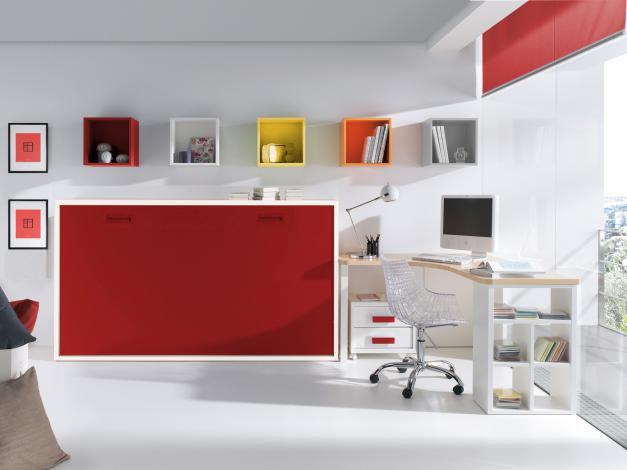 Cama abatible horizontal 135x190 b0038 - Fabricar cama abatible ...